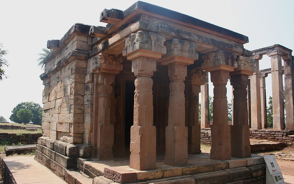 Sanchi-temple