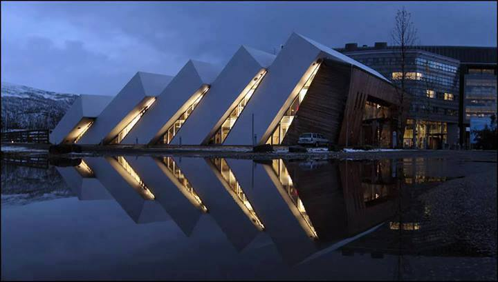 Polaria Museum by Jan Inge Hovig in Tromsø, Norway